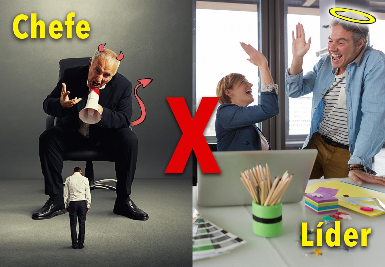 Líder X Chefe: apostar na liderança traz bons resultados. BG Comunicação e Marketing