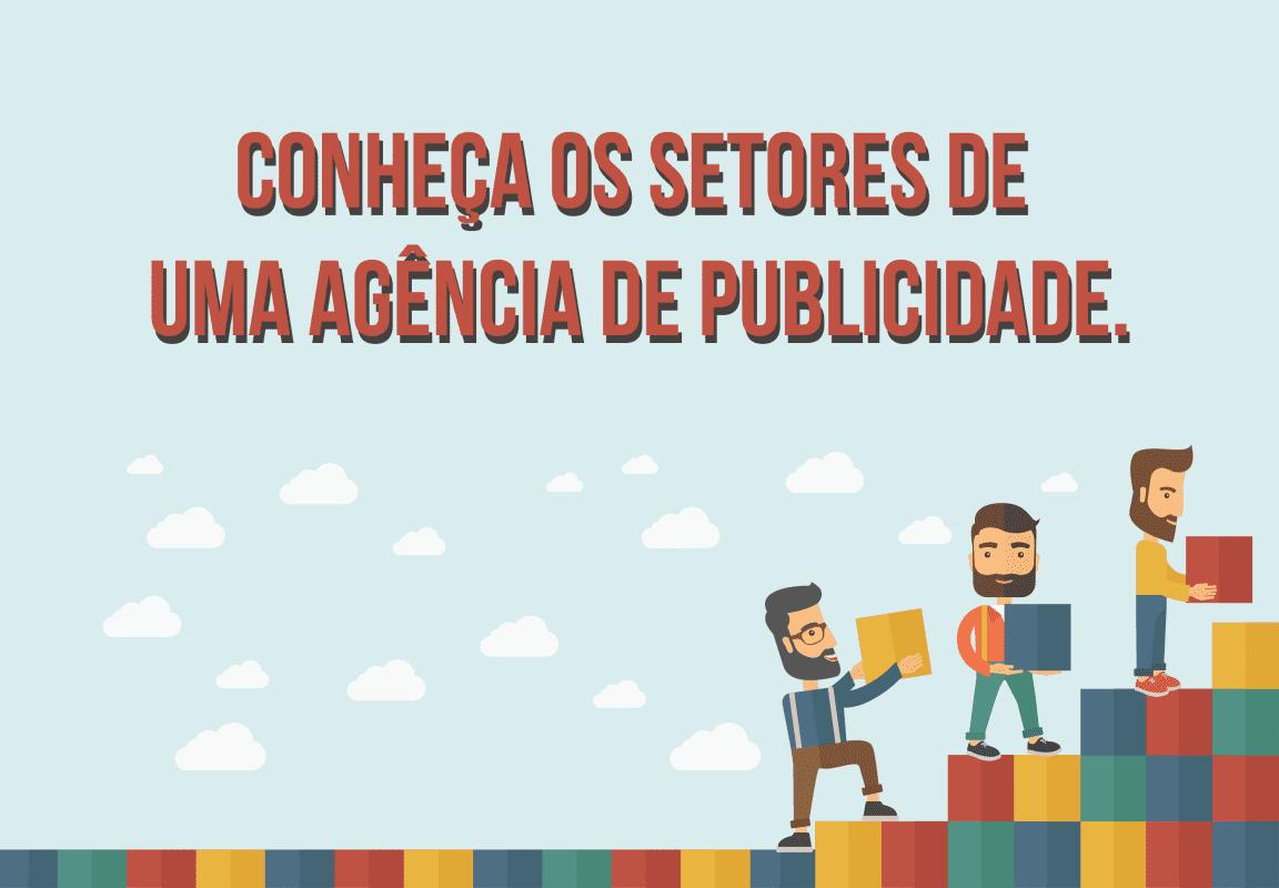 Infográfico: a agência de publicidade e seus departamentos